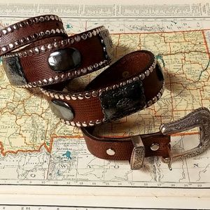 Western Leather Belt by Another Line